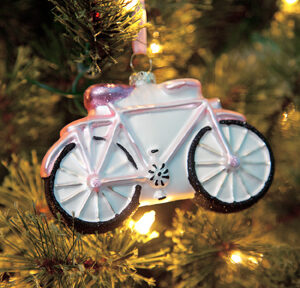Bicycle Christmas Ornament